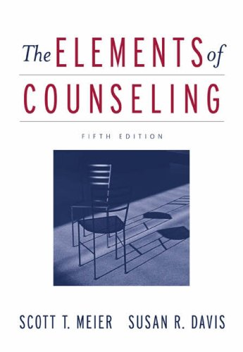 9780534574185: The Elements of Counseling