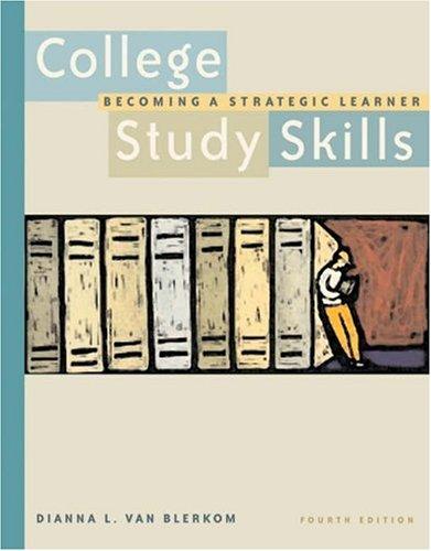 9780534574673: College Study Skills: Becoming a Strategic Learner