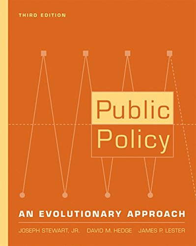 9780534574949: Public Policy: An Evolutionary Approach