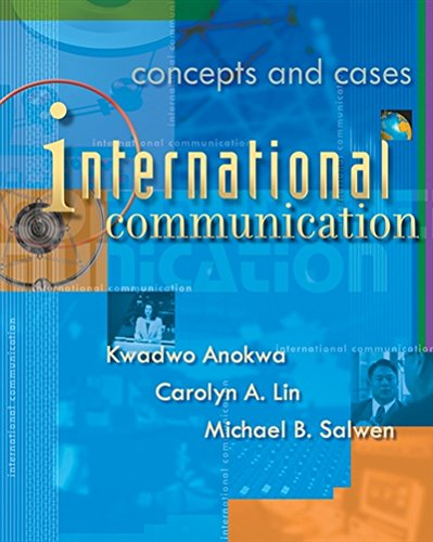 9780534575199: International Communication: Concepts and Cases