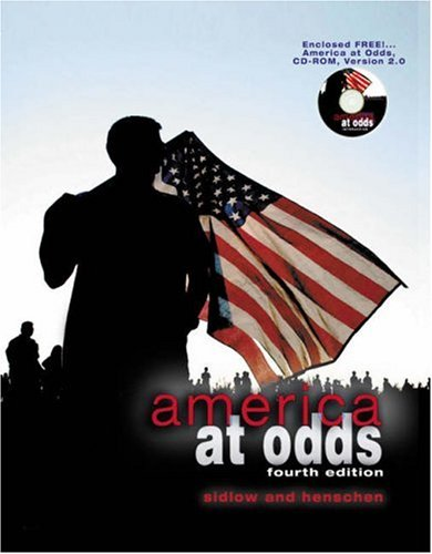 9780534575212: America at Odds (with CD-ROM and InfoTrac)
