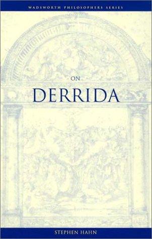 9780534576318: On Derrida (Wadsworth Philosophers Series)
