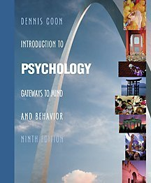 9780534576721: Introduction to Psychology: Gateways to Mind and Behavior (with InfoTrac)