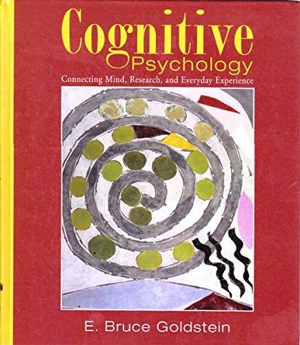9780534577322: Cognitive Psychology