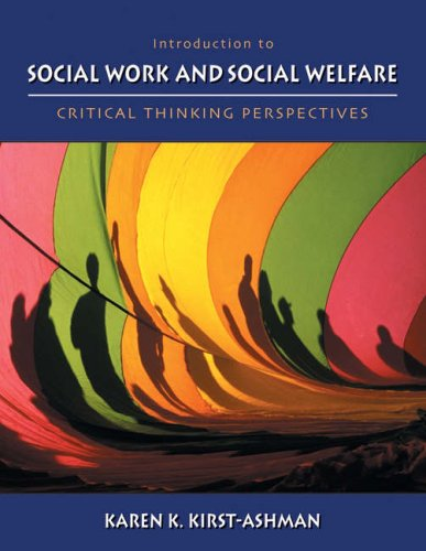 9780534577421: Introduction to Social Work and Social Welfare: Critical Thinking Perspectives (Non-InfoTrac Version)
