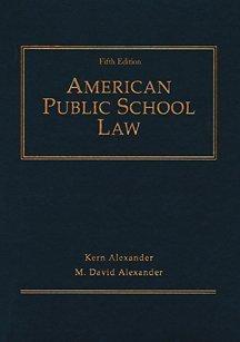 9780534577445: American Public School Law