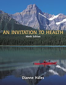 Invitation to Health 9780534577537 AN INVITATION TO HEALTH, Brief Third Edition introduces students to research, information, and recommendations related to health and healthy lifestyles. Praised for it's clear and engaging writing style, Dianne Hales' text addresses the issues related to health and wellness that can affect college students now and in their future. Reviewed by over 40 instructors, this informative text focuses on change and prevention and supplies students with the lessons they'll need to make responsible, healthy decisions in their daily lives. In addition, AN INVITATION TO HEALTH, Brief now comes with a wide range of teaching and learning resources! Besides the exclusive offerings of the CNN Video Today series and InfoTrac College Edition, or the extensive PowerPoint and Online teaching support, each copy of the text comes packaged with the exciting and interactive PROFILE PLUS CD-ROM. This CD-ROM includes self-paced, guided activities appropriate for all health students. Whether supporting active learning or active teaching, this text has it all!