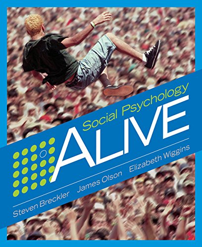 9780534578343: Social Psychology Alive (Available Titles Cengagenow)