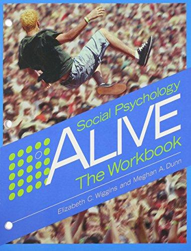 9780534578350: Social Psychology Alive: The Workbook