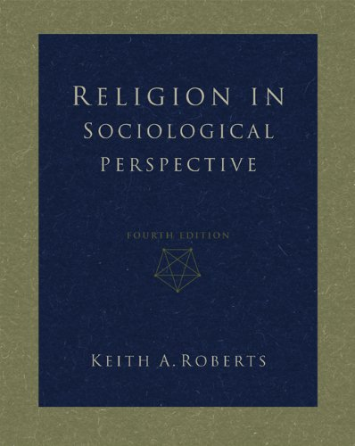 9780534579517: Religion in Sociological Perspective