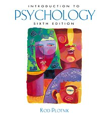 9780534580100: Introduction to Psychology