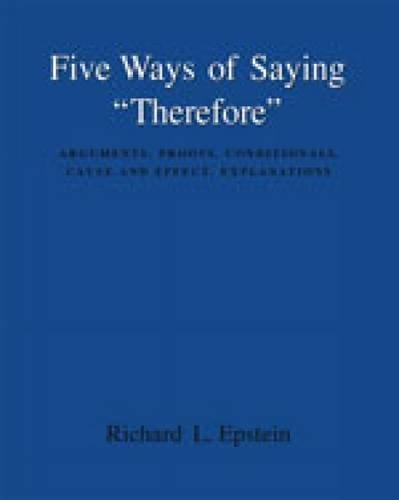 9780534580667: Five Ways of Saying