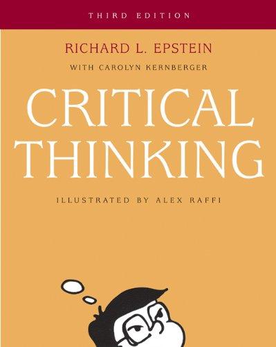 9780534583484: Critical Thinking