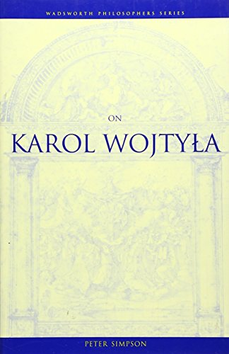 9780534583750: On Karol Wojtyla (Wadsworth Notes)