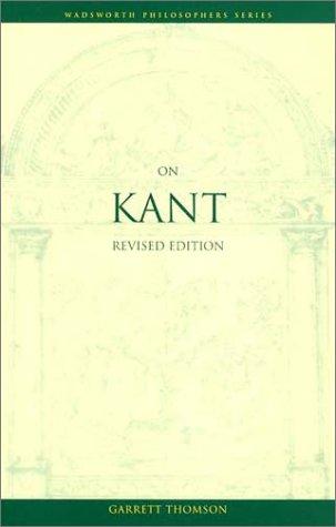 9780534584078: On Kant (Philosophy)