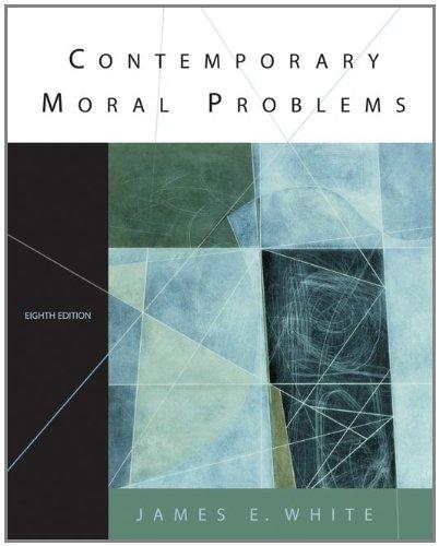 9780534584306: Contemporary Moral Problems