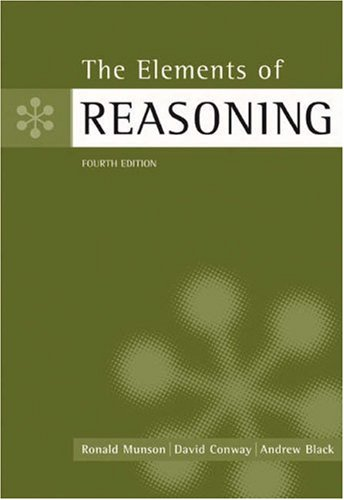 The Elements of Reasoning: Ronald Munson, David