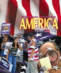 9780534585181: America at Odds (with CD-ROM and InfoTrac)