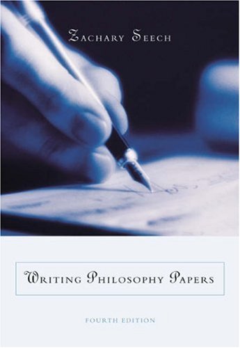 9780534585273: Writing Philosophy Papers