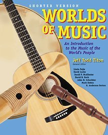 9780534585457: Worlds of Music: An Introduction to Music of the World's People, Shorter Edition