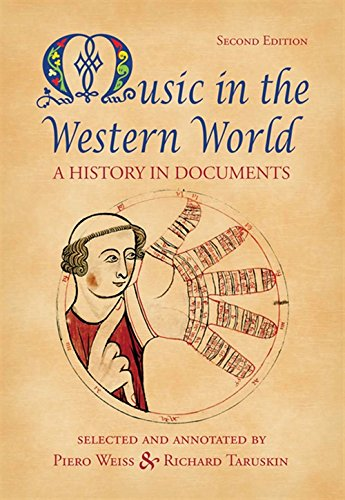 9780534585990: Music In the Western World: A History in Documents