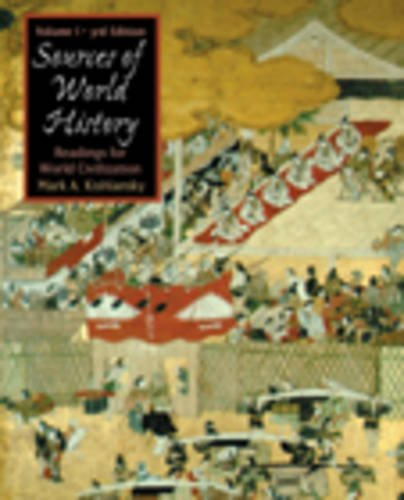 9780534586898: 1: Sources in World History, Volume I