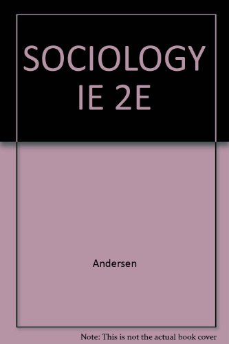 SOCIOLOGY IE 2E: Andersen
