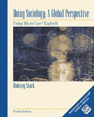 9780534587611: Doing Sociology: A Global Perspective: Using MicroCase ExplorIt Workbook (with CD-ROM)