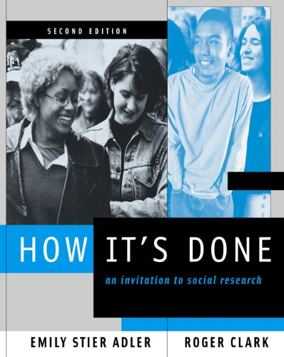 9780534588069: How It's Done: An Invitation to Social Research