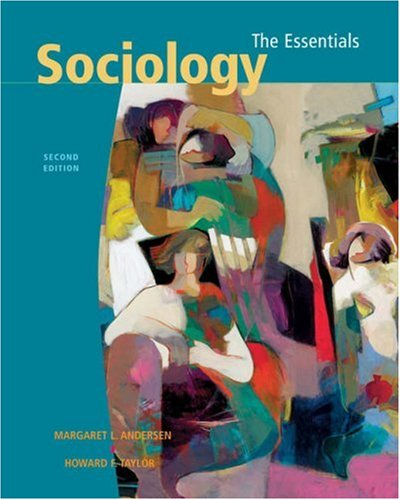 9780534588243: Sociology: The Essentials (with InfoTrac and CD-ROM)