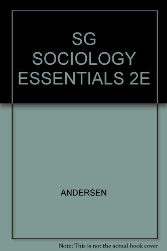 SG SOCIOLOGY ESSENTIALS 2E: ANDERSEN