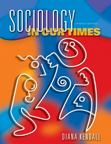 9780534588786: Sociology in Our Times (with InfoTrac and CD-ROM)