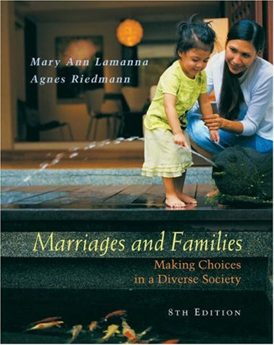 9780534588878: Marriages and Families: Making Choices in a Diverse Society (with InfoTrac)