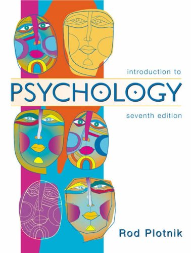 9780534589349: Introduction to Psychology (with InfoTrac) (Available Titles CengageNOW)