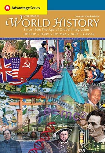 Cengage Advantage Books: World History, Compact Edition: Upshur, Jiu-Hwa L.;