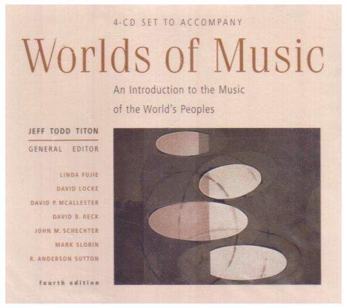 9780534591045: 4 CD Set Worlds Music 4e