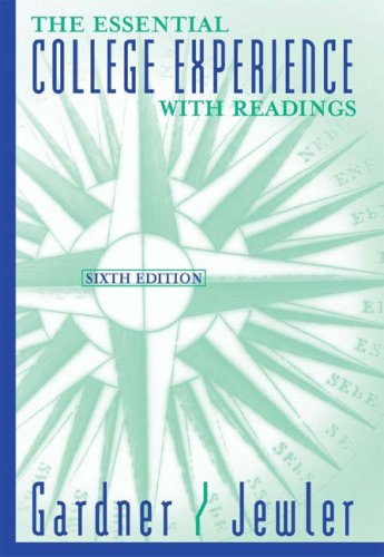 9780534593971: Your College Experience: Strategies for Success, the Reader