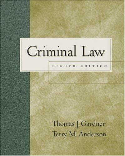9780534594817: Criminal Law