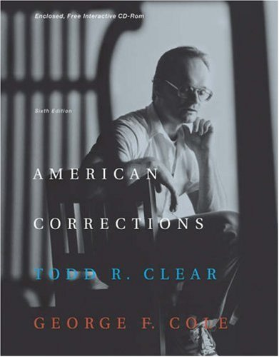 9780534595173: American Corrections (with CD-ROM and InfoTrac)