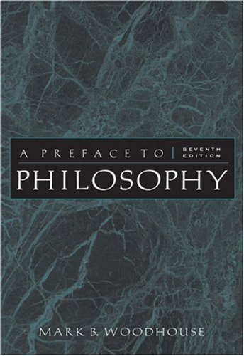 9780534595449: A Preface to Philosophy