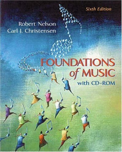 9780534595562: Foundations of Music (with CD-ROM)