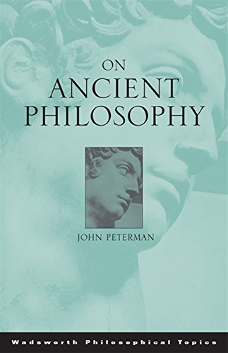 9780534595722: On Ancient Philosophy (Wadsworth Philosophical Topics)