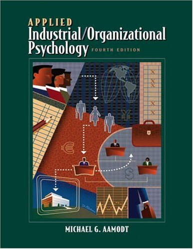 9780534596880: Applied Industrial/Organizational Psychology (with CD-ROM and InfoTrac)