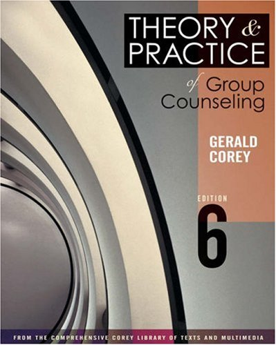 9780534596972: Theory and Practice of Group Counseling (with InfoTrac) (Available Titles CengageNOW)