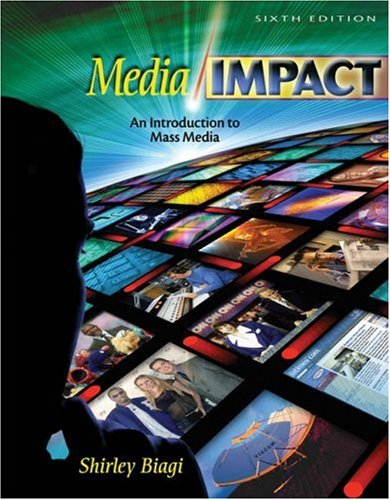 9780534597061: Media/Impact: An Introduction to Mass Media