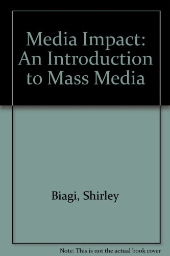 9780534597139: Media/Impact: An Introduction to Mass Media (Non-InfoTrac Version)