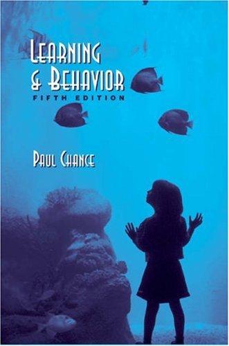 9780534598686: Learning & Behavior