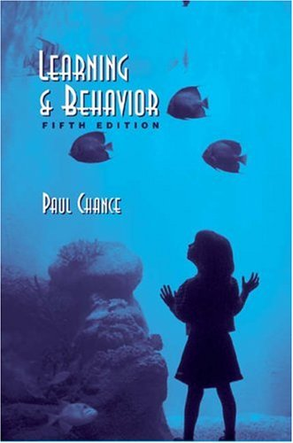 9780534598686: Learning and Behavior