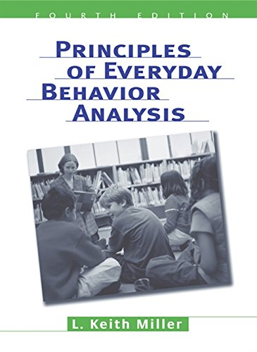 9780534599942: Principles of Everyday Behavior Analysis (with Printed Access Card)