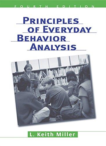 9780534599942: Principles Of Everyday Behavior Analysis